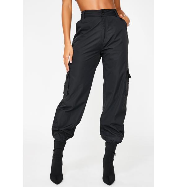Nana Judy Black Matira Cargo Pants