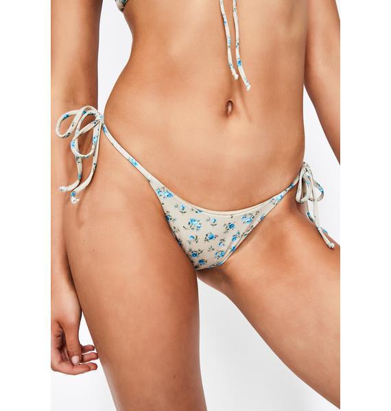 Frankies Bikinis Spring Blossom Mackenzie Bikini Bottoms