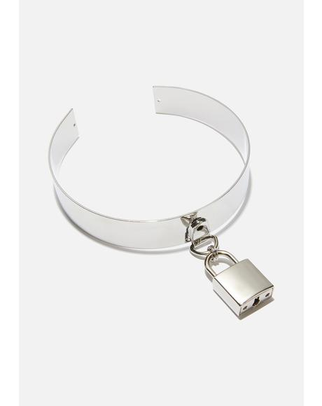 Lock It Down Metal Choker