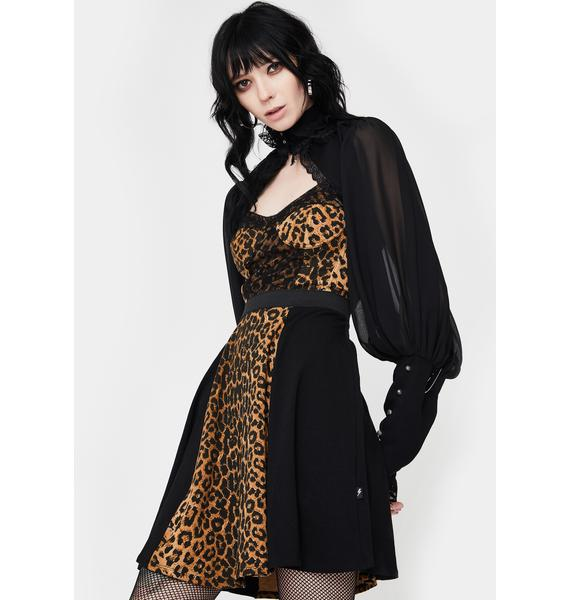 Tripp NYC Animal Instinct Mini Dress
