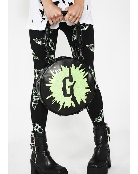 Goosebumps Splat Glitter Purse