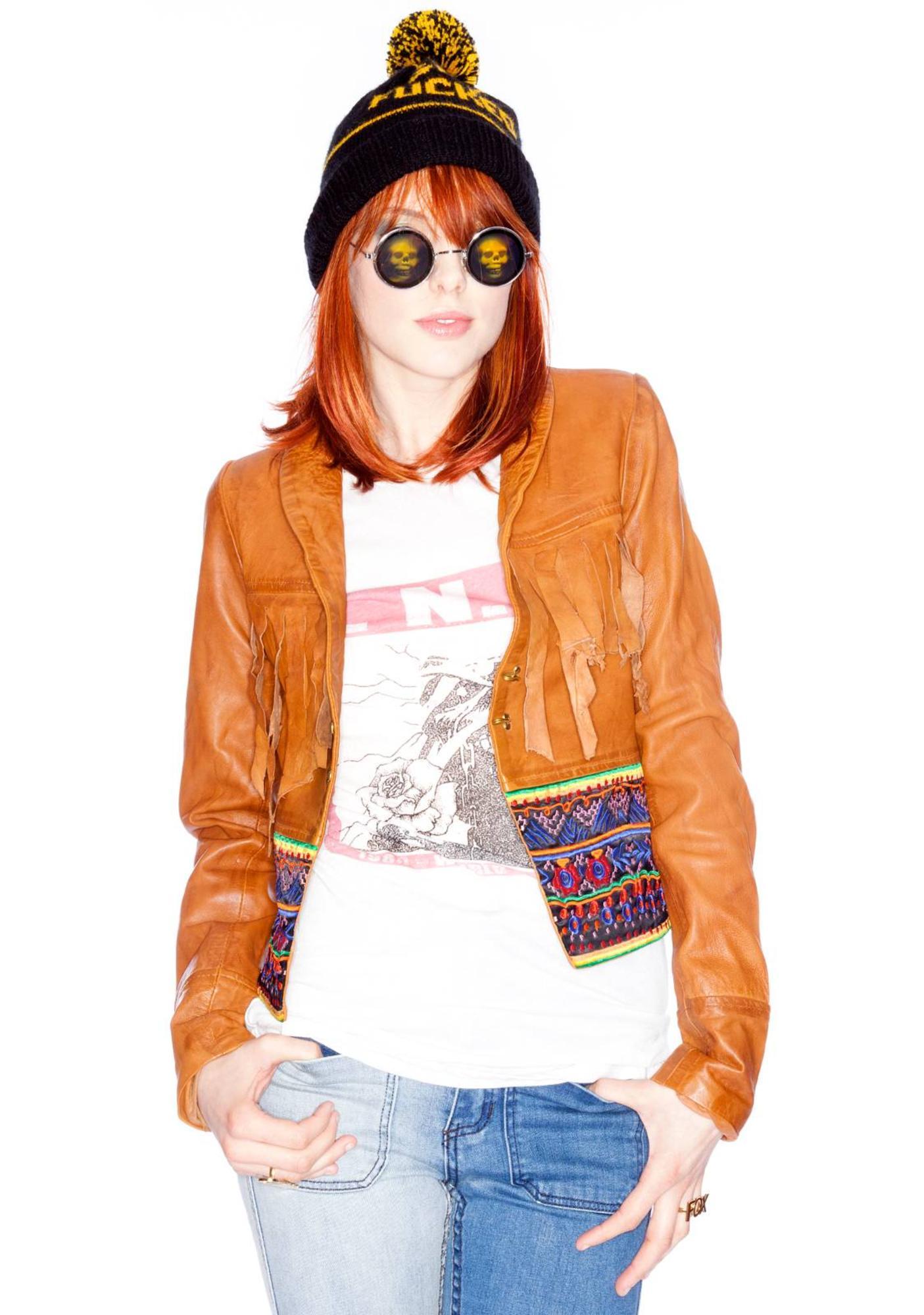 One Teaspoon Morrison Leather Jacket