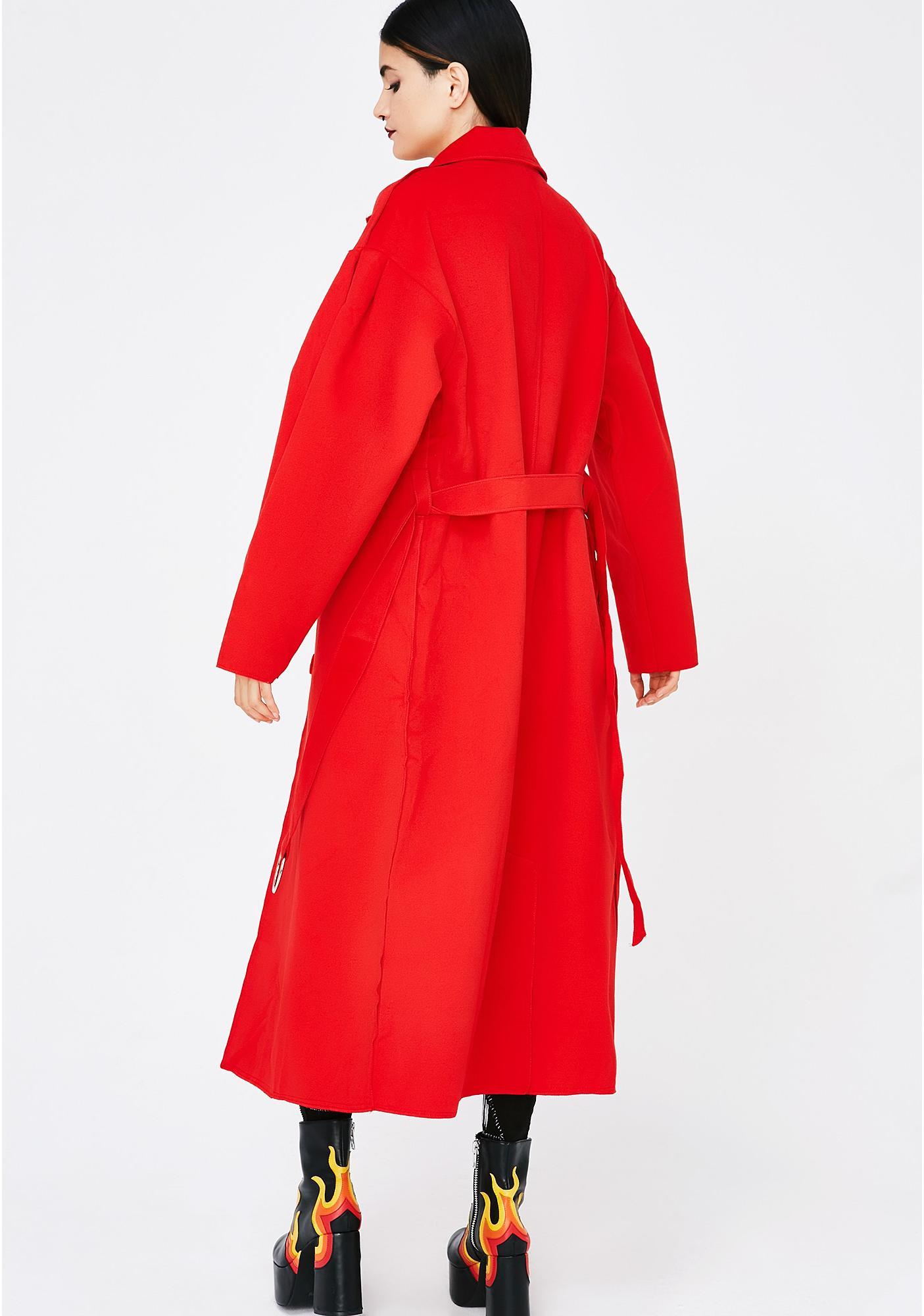 Mobbin' Deep Trench Coat