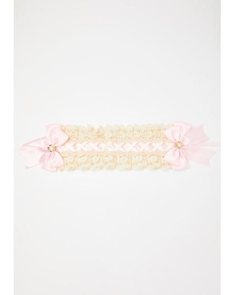Unholy Night Lace Headband