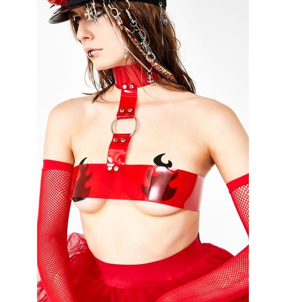 Devil666ish Bloody Veil Harness