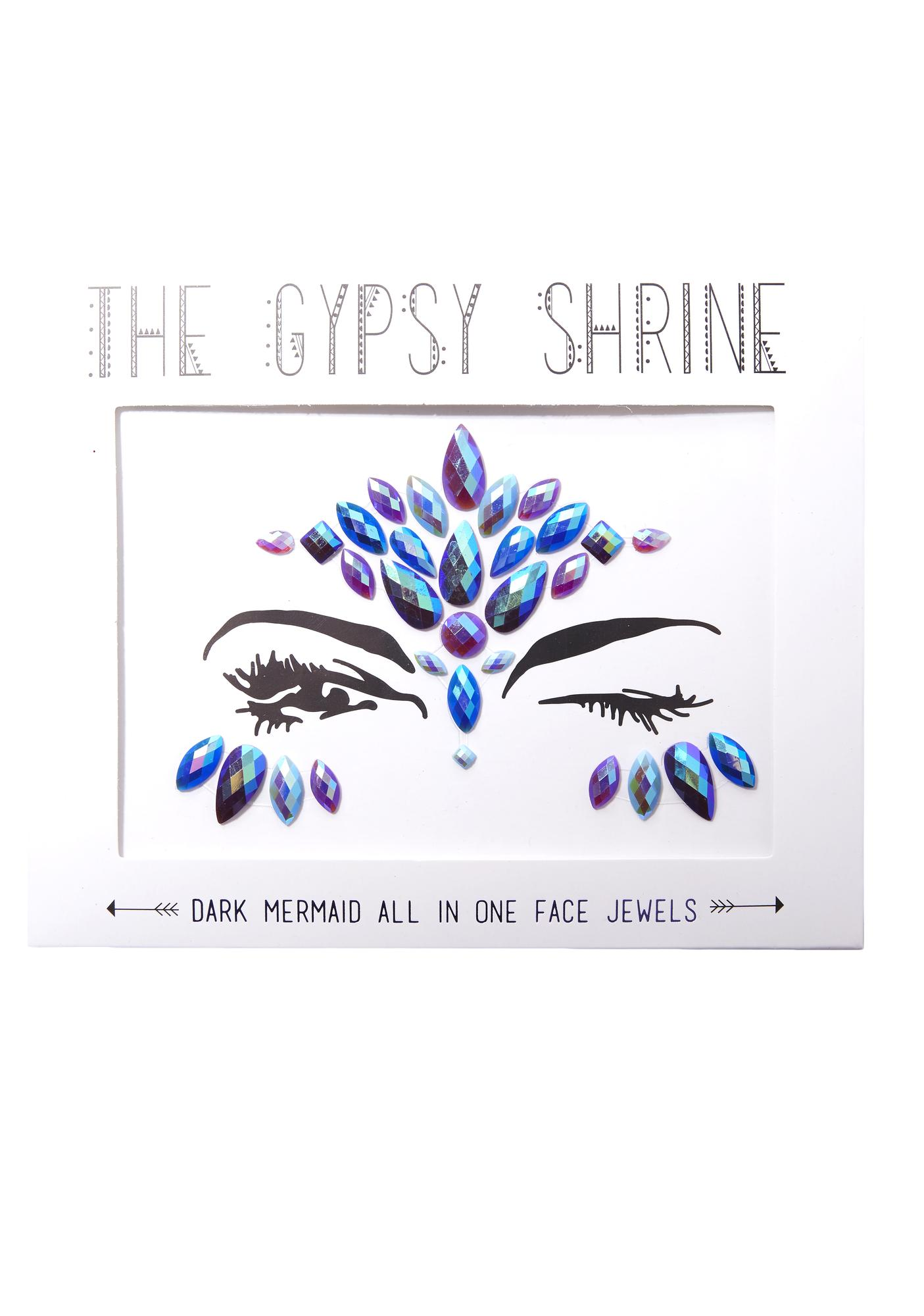 The Gypsy Shrine Dark Mermaid Face Jewels