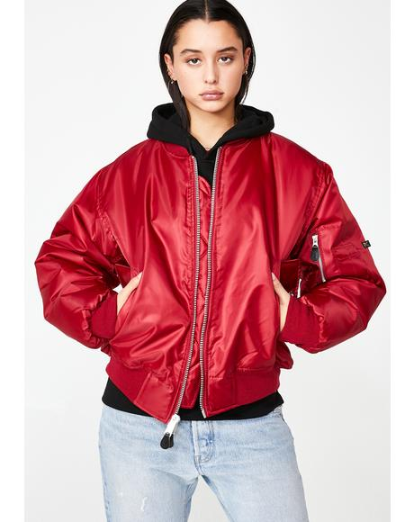 Fire MA-1 Flight Jacket