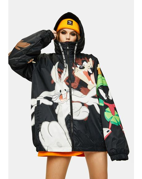 Looney Toons Zip Up Hoodie