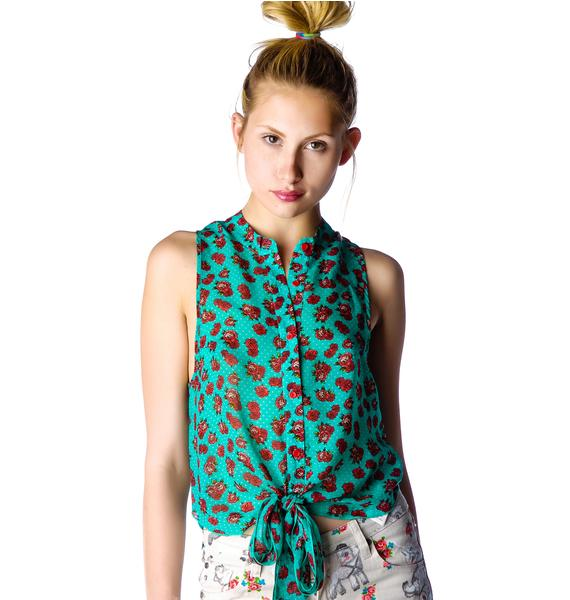 Iron Fist Scary Prairie Sleeveless Blouse