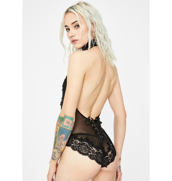 Babe Mode Lace Teddy