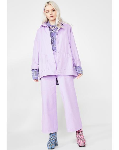 LO Lilac Chore Jacket