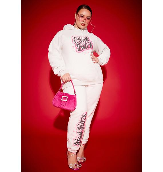 Poster Grl Always A Bad Bish Vibe Airbrushed Fleece Sweatpants