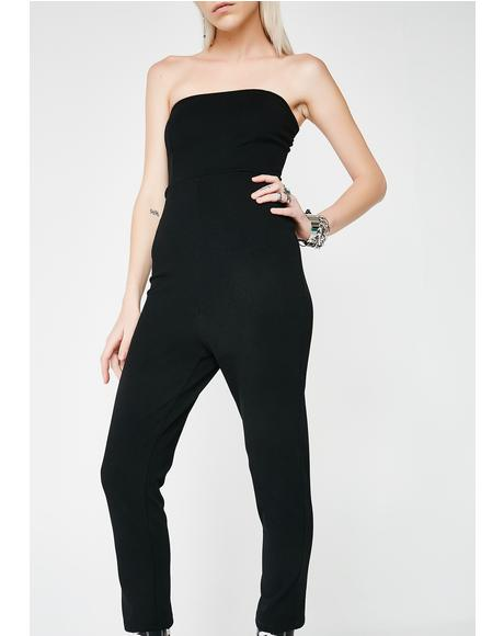 Lose Control Strapless Jumpsuit