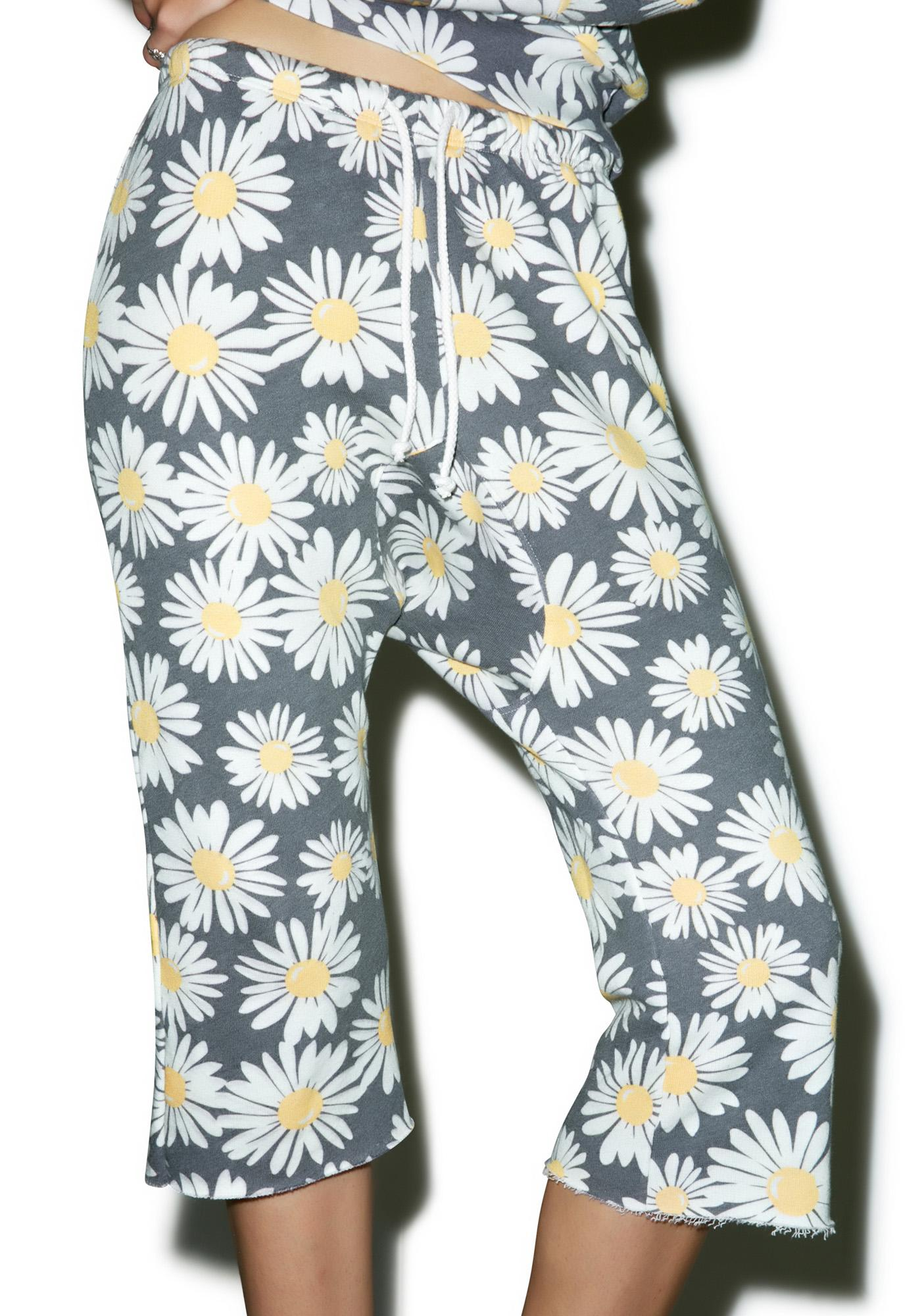 Wildfox Couture Daisy Train Princess Couch Joggers