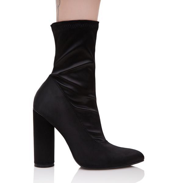 Dark Seraphim Satin Boots