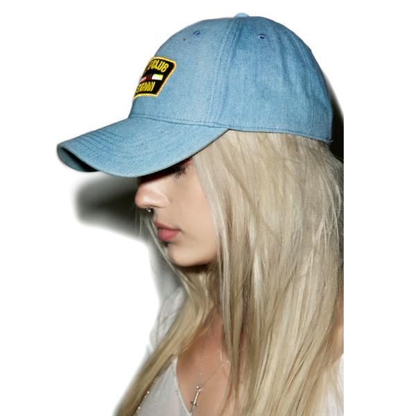 Reason Denim Strip Club Veteran Dad Hat