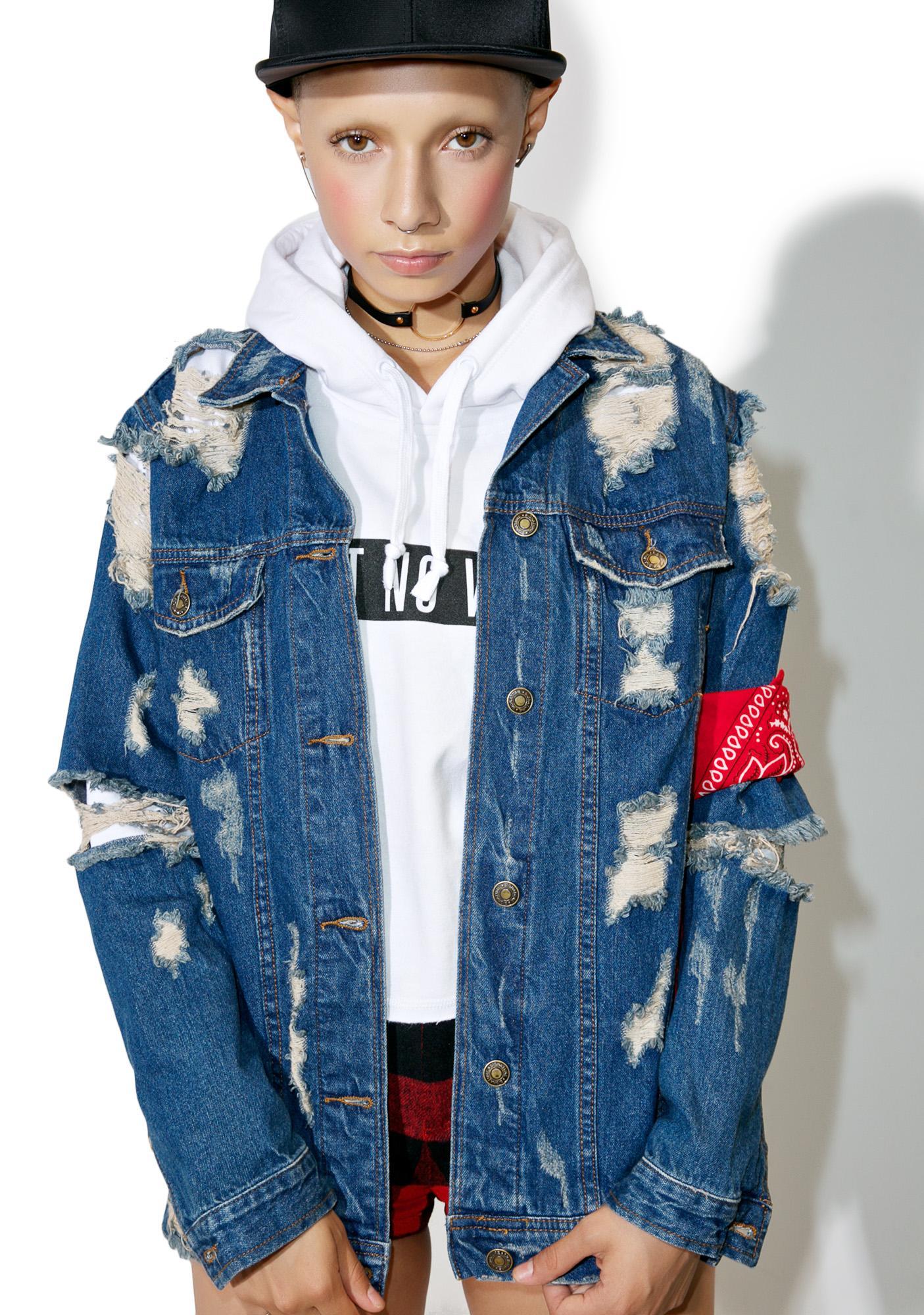 Rough Edges Denim Jacket