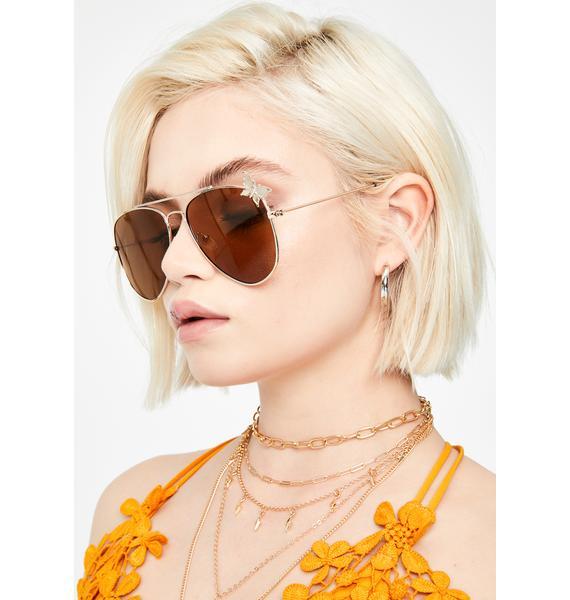 Pixie Flyer Aviator Sunglasses