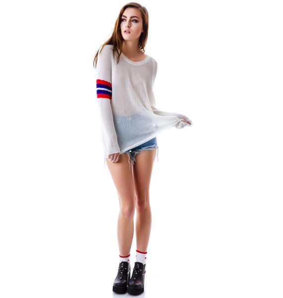 Varsity Blues Sweater