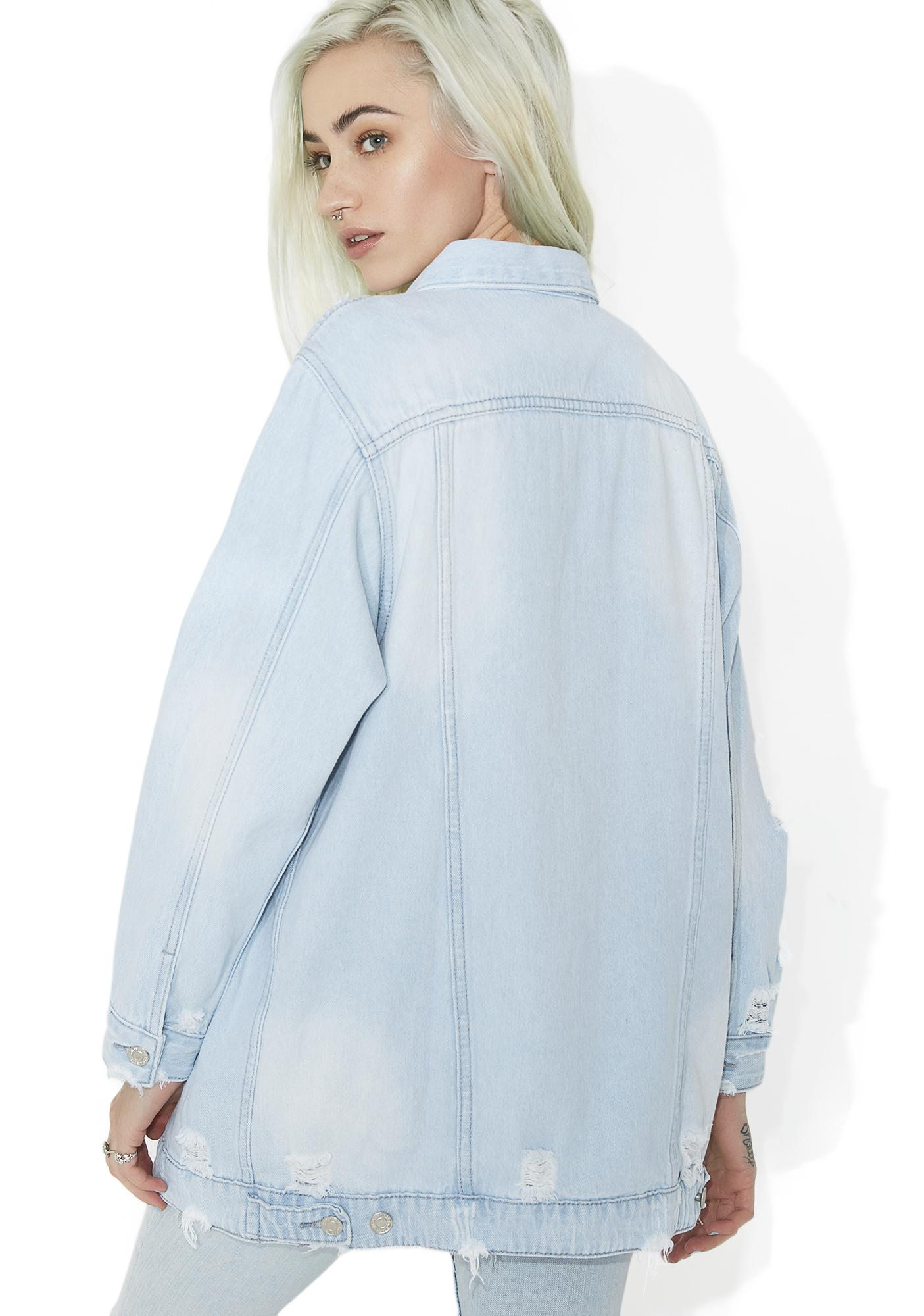 Livin' On A Prayer Denim Jacket