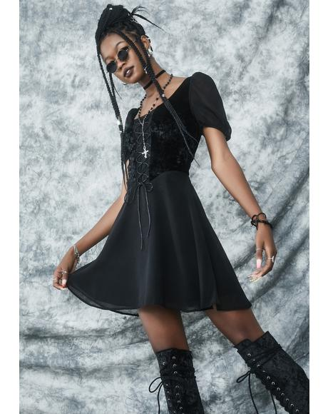 Sorcery N' Stuff Babydoll Dress