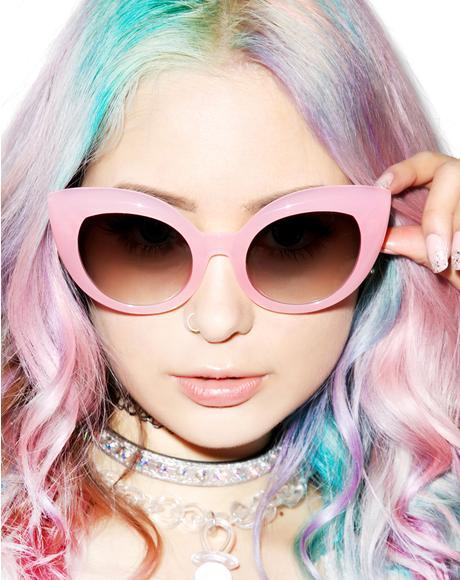 The Cotton Candy Diamond Brunch Sunglasses