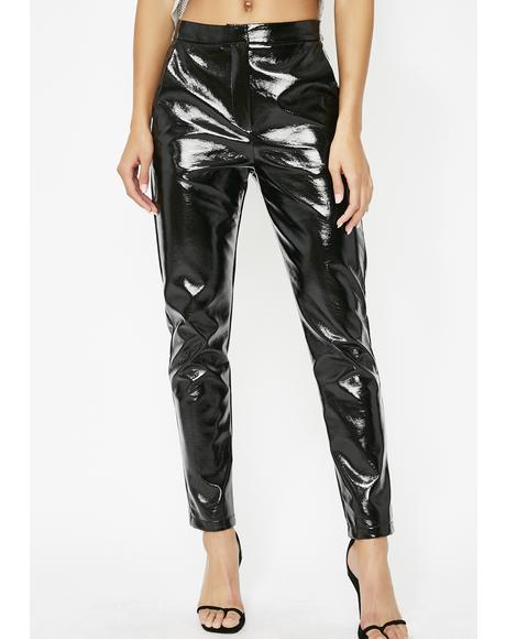 Heaux Is Life Vinyl Pants