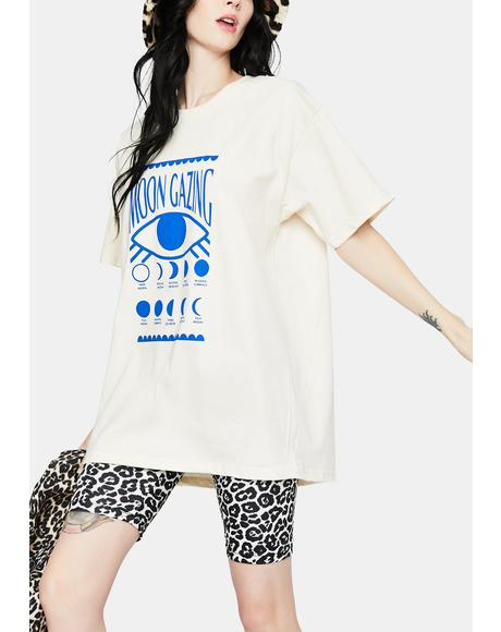 Moongazing Graphic Tee
