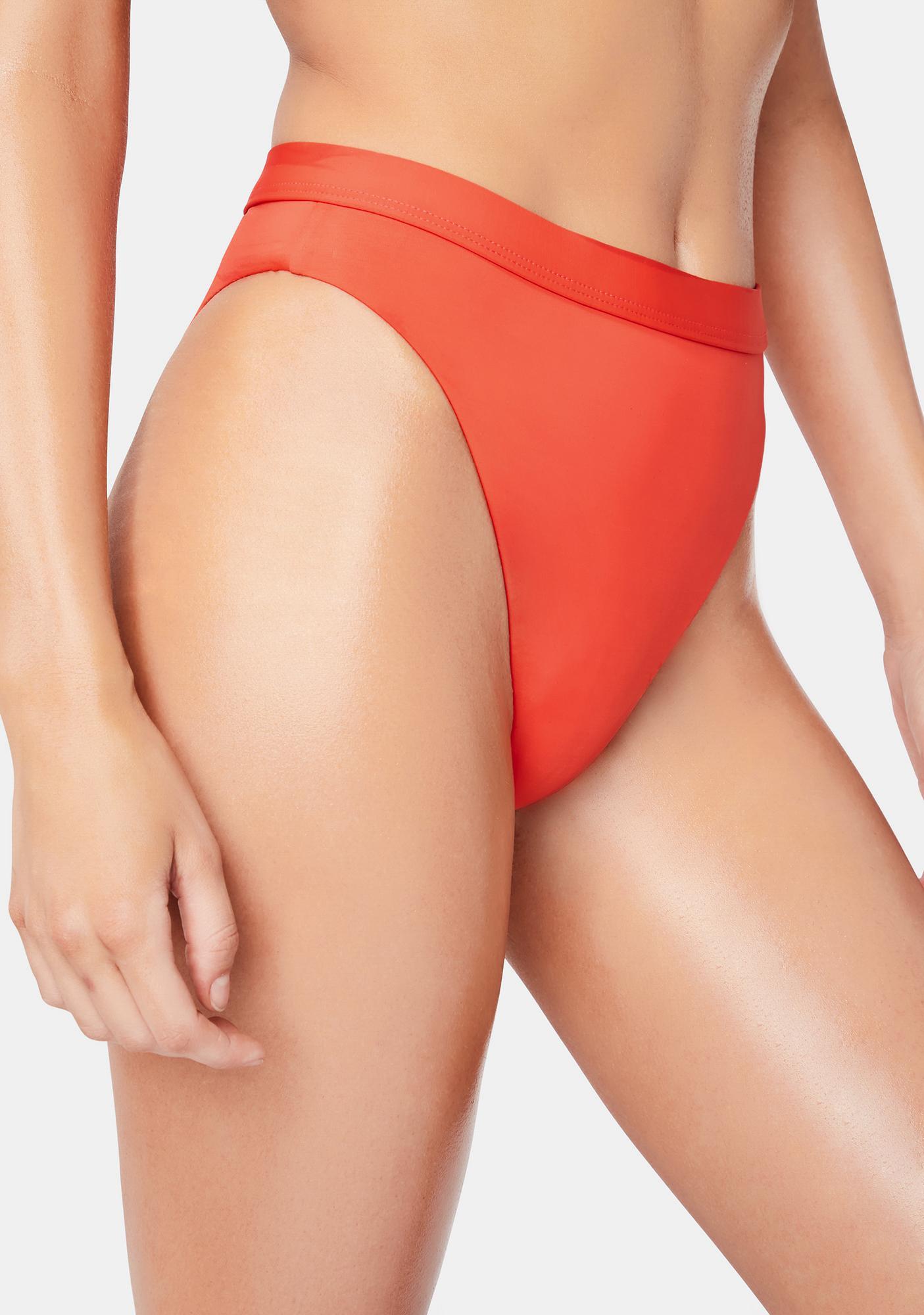 Dippin' Daisy's  Red Ultra Bikini Bottoms