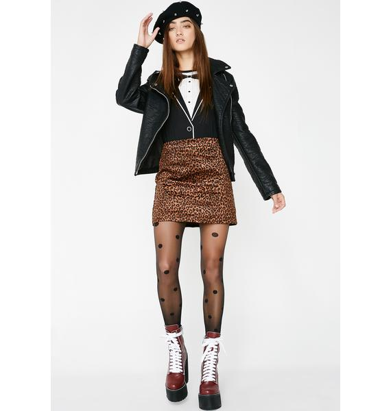 Cat's Meow Mini Skirt