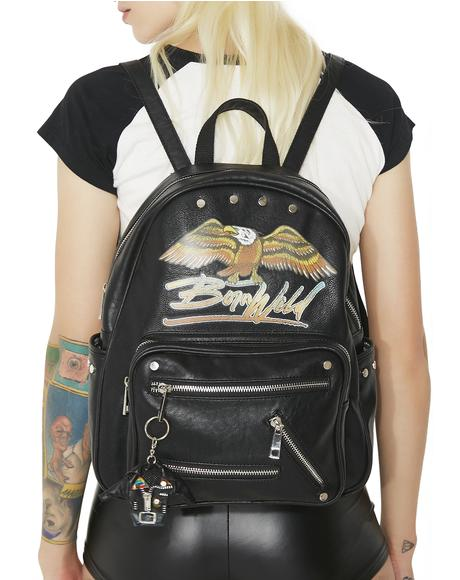 Born Wild Moto Backpack
