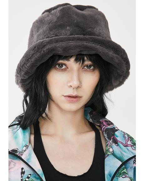 Storm Icy Heaven Faux Fur Bucket Hat