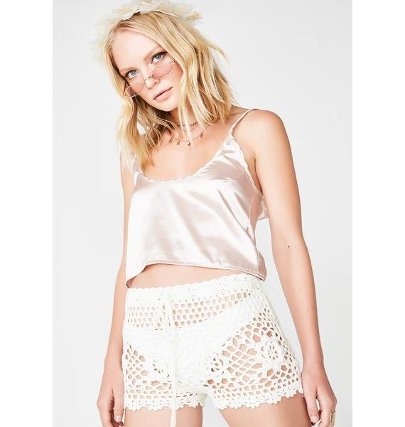 Stillwater Crochet Shorts
