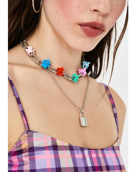 Isn't It Crazy Layered Chain Choker