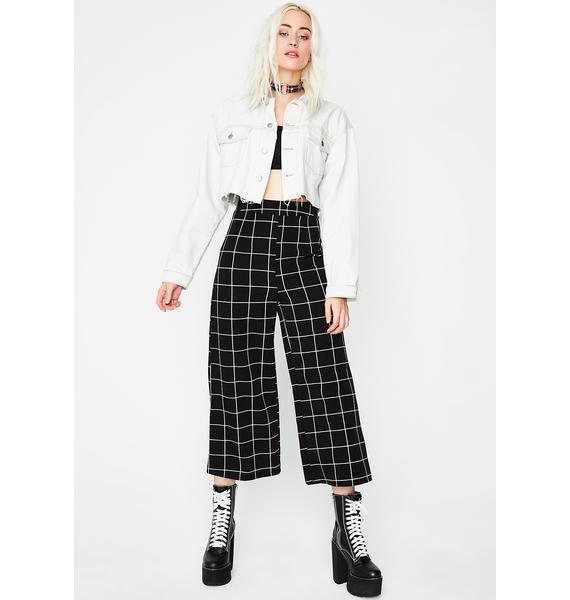 Grid Work Pants