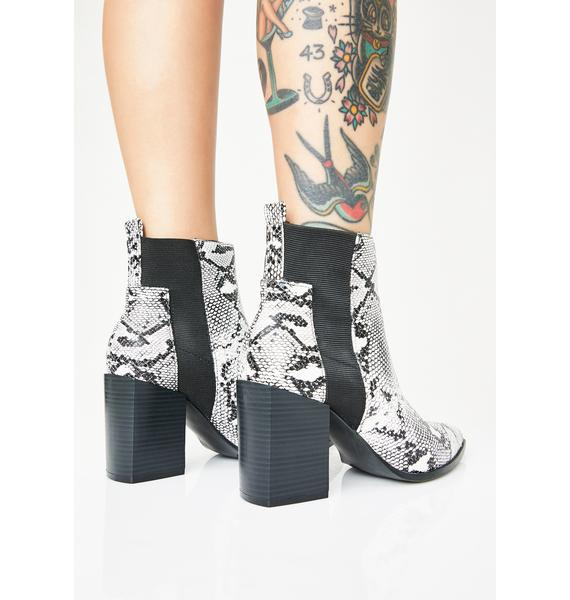 Priceless Poison Ankle Boots