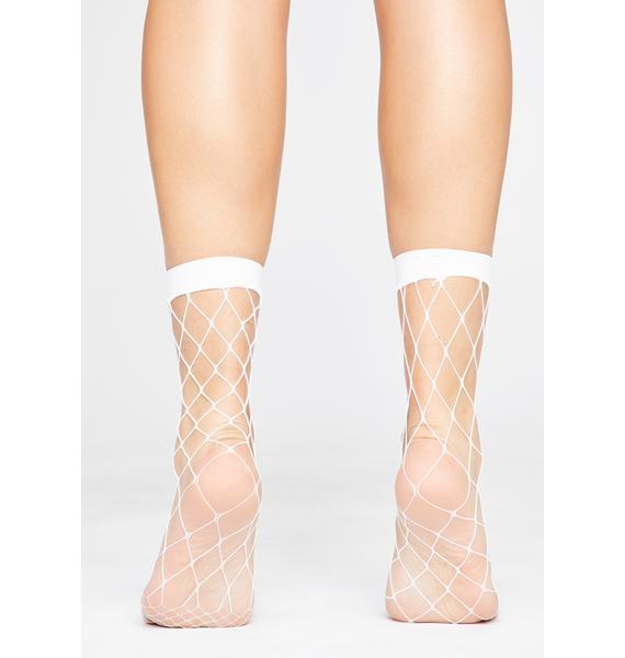Innocent Get Yer Kicks Fishnet Socks
