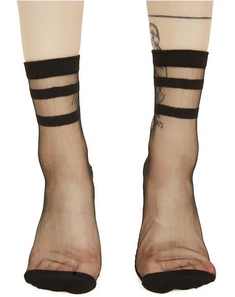 River Styx Sheer Ankle Socks