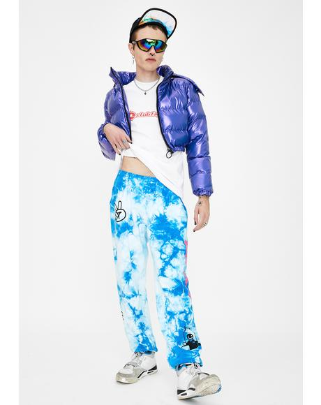 Playtime Tie Dye Sweatpants