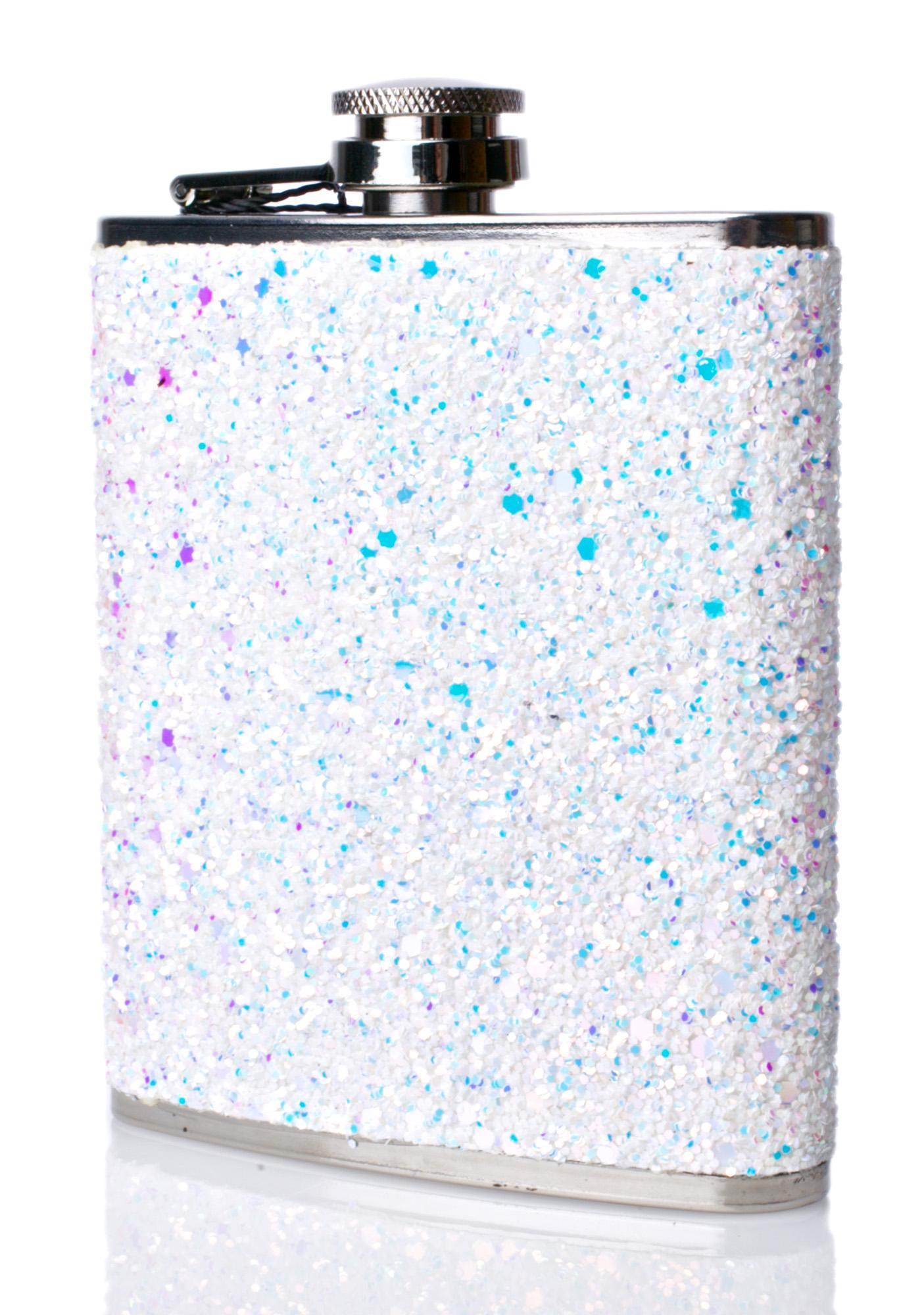 Skinnydip Frozen Hip Flask