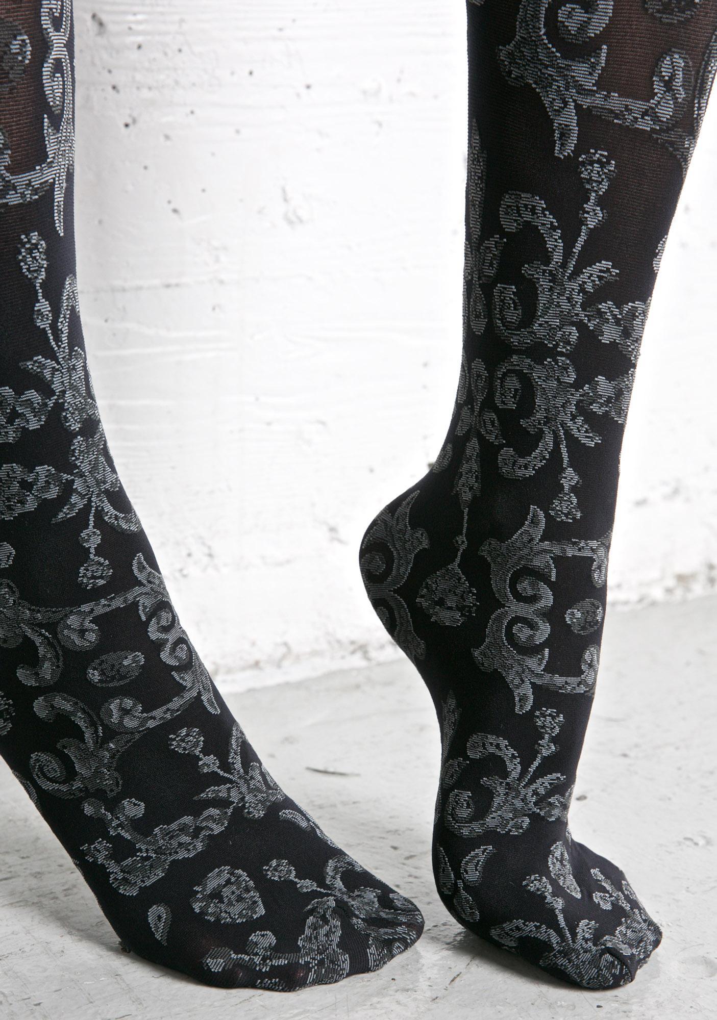 Stance Dark Odette Over The Knee Socks