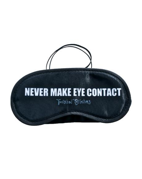 Never Make Eye Contact Sleep Mask