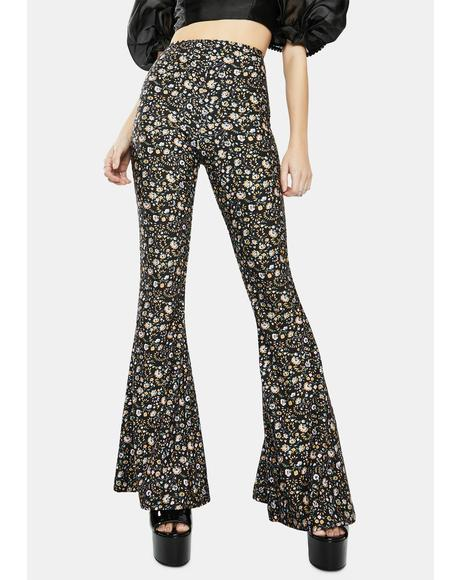 The Spirit Floral Bell Bottoms