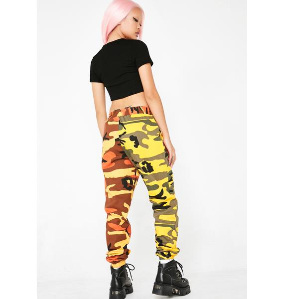 Glowin' So Vain Camo Pants