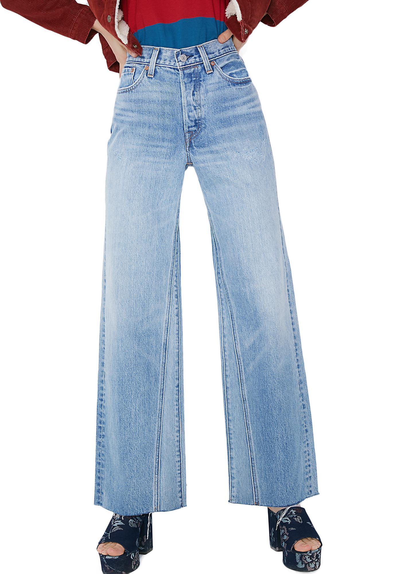 Wide leg jeans fashion 91