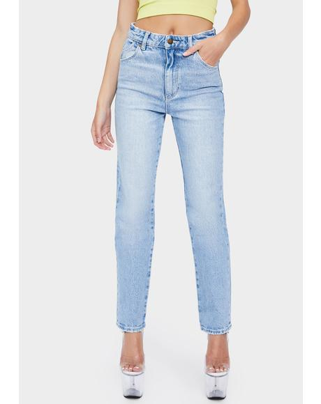 Faded Vintage Original Straight Leg Jeans