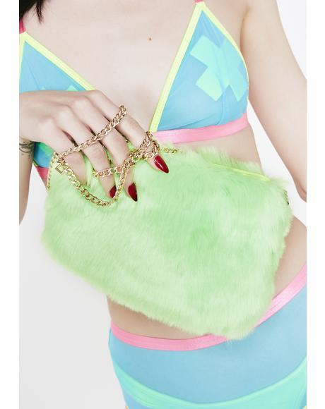 Slime Disposition Furry Shoulder Bag