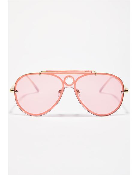 Sweet Escapade Babe Aviators