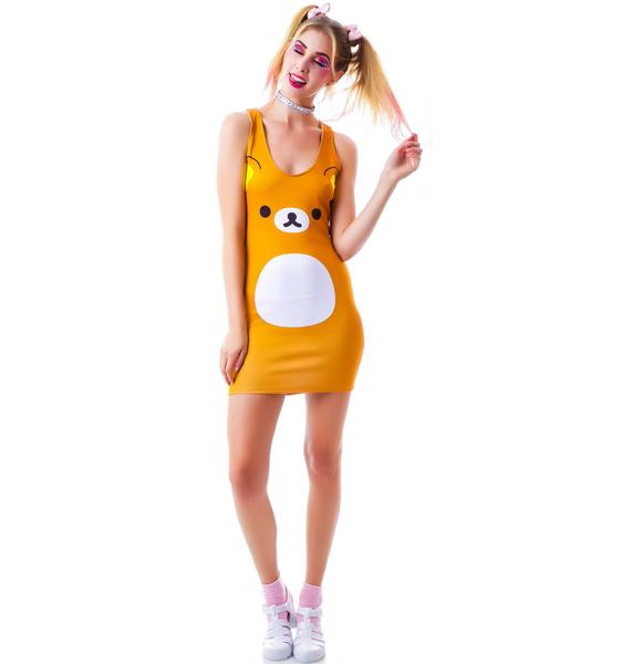 Japan L.A. Rilakkuma Bodycon Dress