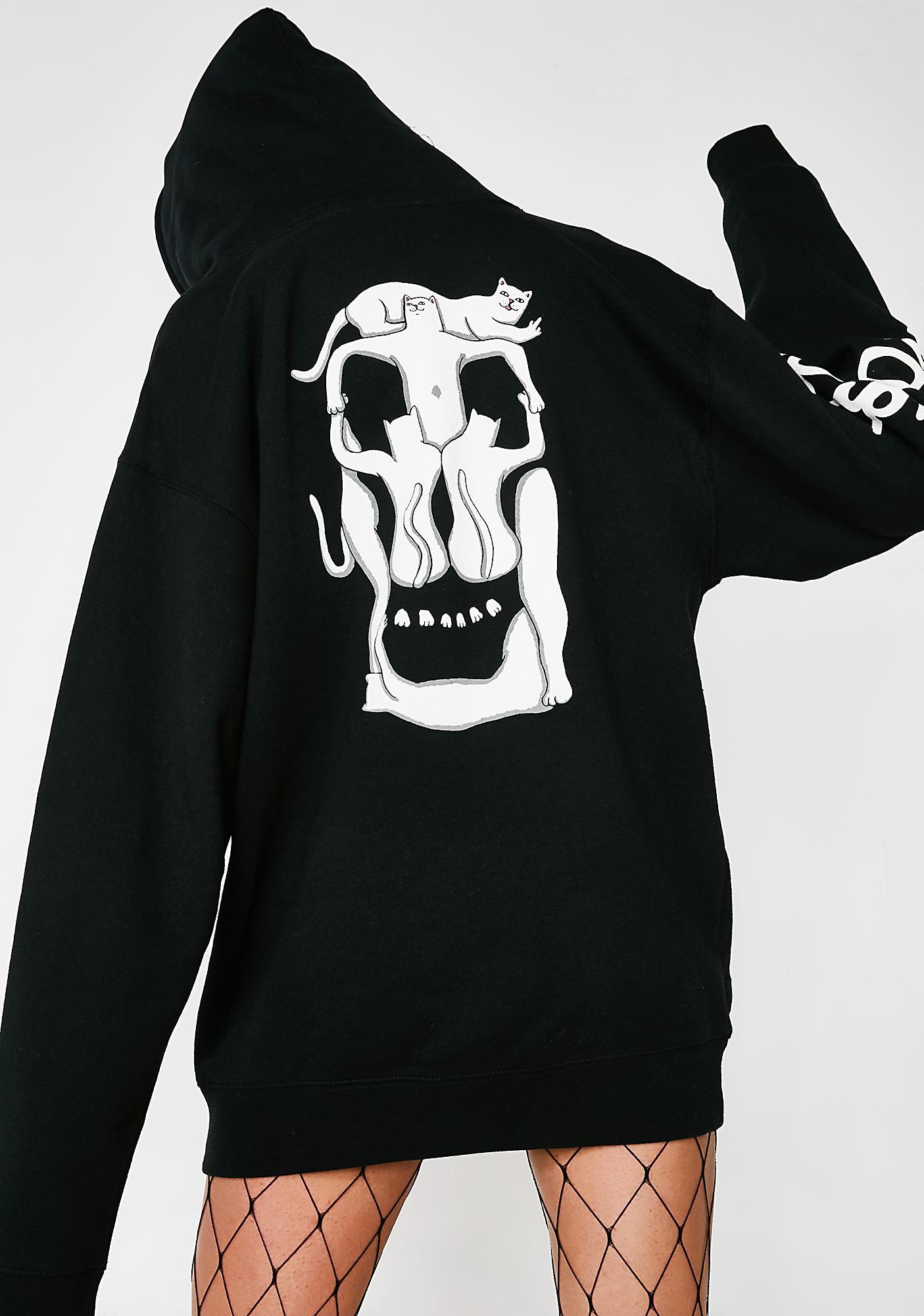 RIPNDIP Nerm Skull Pullover Hoodie